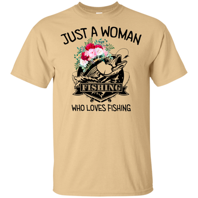 Fishing Just a women DL T-Shirt 8 colors