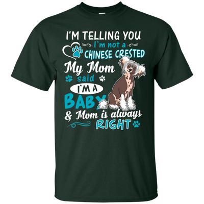 I_m a Baby  Chinese-crested G200 Gildan Ultra Cotton T-Shirt