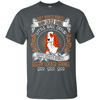 Happy cocker spanielTshirt G200 Gildan Ultra Cotton T-Shirt
