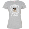 I JUST NEED - st bernard 3516 LAT Ladies' Fine Jersey T-Shirt