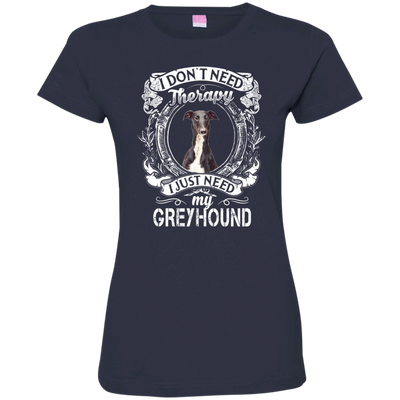 I JUST NEED - greyhound 3516 LAT Ladies' Fine Jersey T-Shirt