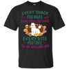 Poodle Snack Tshirt G200 Gildan Ultra Cotton T-Shirt