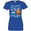 I_m a Baby  chow-chow 3516 LAT Ladies' Fine Jersey T-Shirt