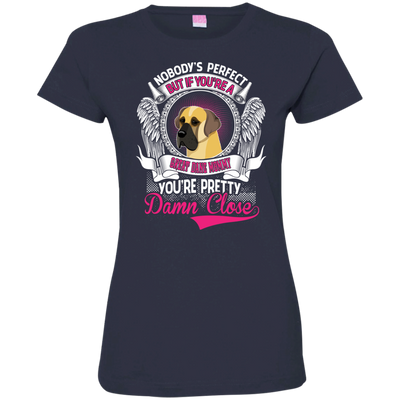 Great Dane mommy Tshirt 3516 LAT Ladies' Fine Jersey T-Shirt