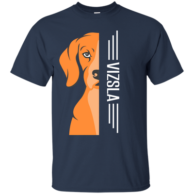 Vizsla  Half-Face Tshirt G200 Gildan Ultra Cotton T-Shirt