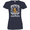 I JUST NEED - golden retriever 3516 LAT Ladies' Fine Jersey T-Shirt
