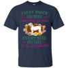 Shar pei Snack Tshirt G200 Gildan Ultra Cotton T-Shirt