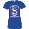Chihuahua Mom Tshirt 3516 LAT Ladies' Fine Jersey T-Shirt