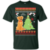 Golden Retriever Christmas T-shirts G200 Gildan Ultra Cotton
