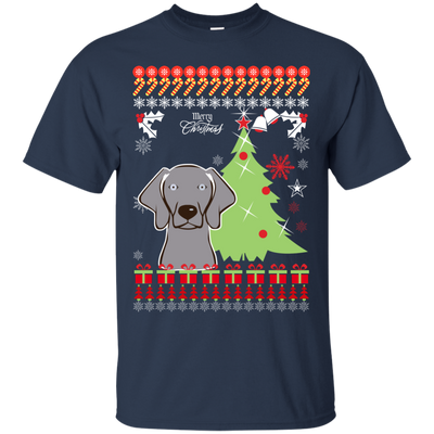 Weimaraners Christmas T-shirts G200 Gildan Ultra Cotton