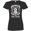 I JUST NEED - malteses 3516 LAT Ladies' Fine Jersey T-Shirt