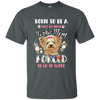 Yorkie Flower Born PTH T-Shirt