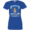 I WAS NORMAL 3 - Cocker spaniels 3516 LAT Ladies' Fine Jersey T-Shirt