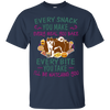 Akita Snack Tshirt G200 Gildan Ultra Cotton T-Shirt