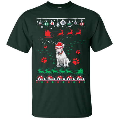 Bull Terrier Christmas T-shirts G200 Gildan Ultra Cotton T-Shirt