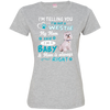 I_m a Baby Westie 3516 LAT Ladies' Fine Jersey T-Shirt
