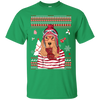 Christmas cocker spaniel G200 Gildan Ultra Cotton T-Shirt