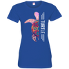 Turtle  Half-Face Tshirt 3516 LAT Ladies' Fine Jersey T-Shirt