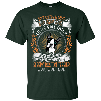 Happy Boston Terrier Tshirt G200 Gildan Ultra Cotton T-Shirt