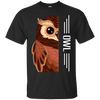 Owl Half-Face Tshirt G200 Gildan Ultra Cotton T-Shirt