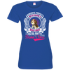 Beagle mommy Tshirt 3516 LAT Ladies' Fine Jersey T-Shirt