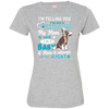 I_m a Baby  Chinese-crested 3516 LAT Ladies' Fine Jersey T-Shirt