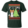 Chinese Crested Christmas T-shirts  G200 Gildan Ultra Cotton