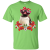 Penguin Flower Mom T-Shirt 8 colors