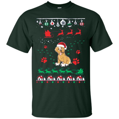 Boxer  Christmas T-shirts G200 Gildan Ultra Cotton T-Shirt