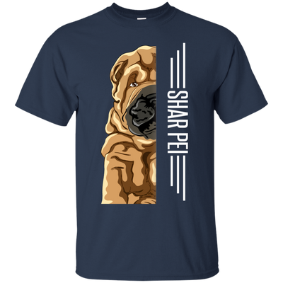 Shar pei  Half-Face Tshirt G200 Gildan Ultra Cotton T-Shirt