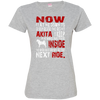 AKITA I KEEP 3516 LAT Ladies' Fine Jersey T-Shirt
