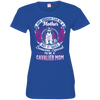 Cavalier  Mom Tshirt 3516 LAT Ladies' Fine Jersey T-Shirt