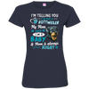 I_m a Baby rottweiler 3516 LAT Ladies' Fine Jersey T-Shirt