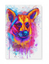Corgi 4 Matte Canvas Print, Canvas Wall Art for Living Room, Bathroom Wall Decor, Color TT 14TA