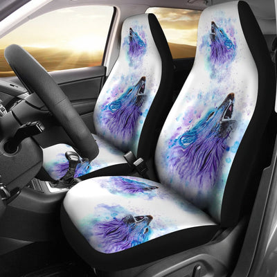 Wolf Car Seat Covers Ja21TH