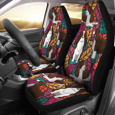 English springer Car Seat Covers 102PH