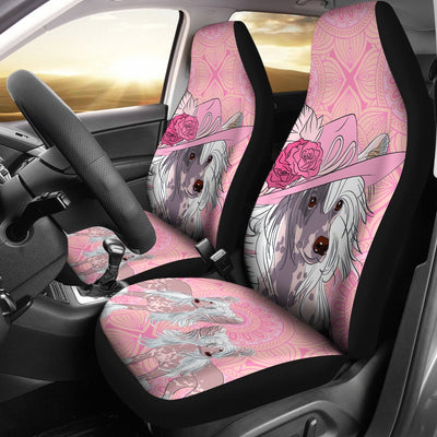 Chinese Crested Car Seat Covers 0202DL