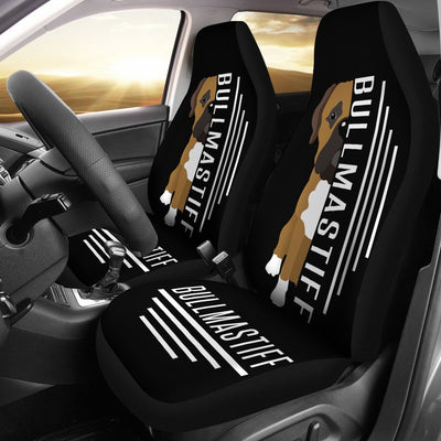 Bullmastiff Car Seat Covers Ja25PM