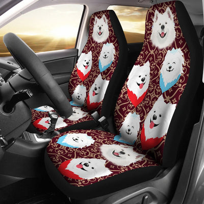 Samoyed Car Seat Covers Ja31PH