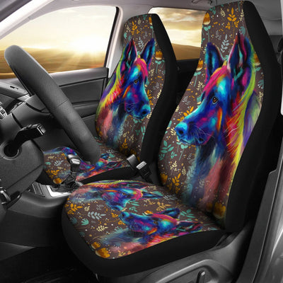 German Shepherd Car Seat Covers Ja31HV