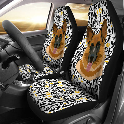 German shepherd Car Seat Covers 102PH