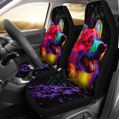Corgi Car Seat Covers Ja16DN