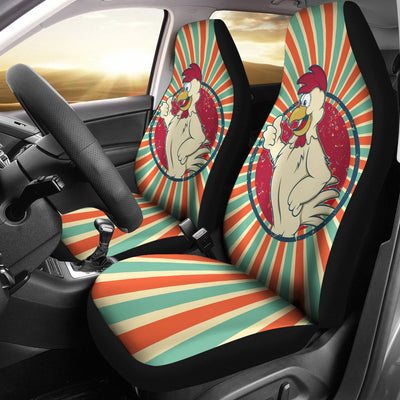 Chicken Car Seat Covers Ja22TH