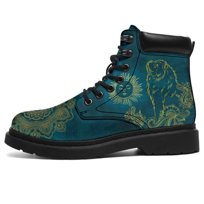 chow chow Dog Sun Season Boots