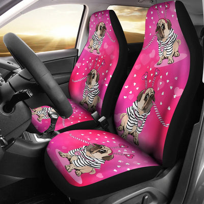 Pug Car Seat Covers Khfepm