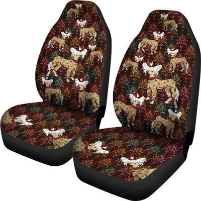 Chinese Crested Car Seat Covers 102TP