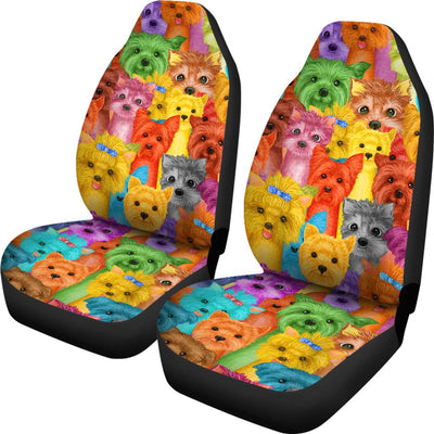 Yorkie Car Seat Covers 2501PM