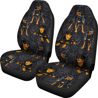 Rottweiler Car Seat Covers Ja31TP