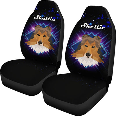 Sheltie Car Seat Covers Ja18VA01