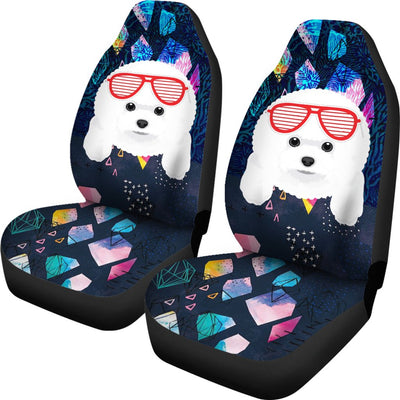 Bichon Frises Car Seat Covers 602PH